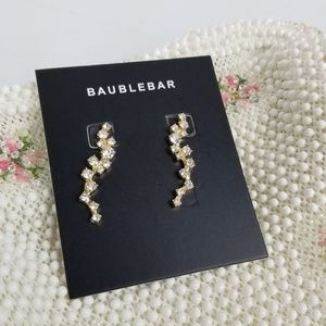 2/$40 BAUBLE BAR Farah Ear Crawlers Gold Tone